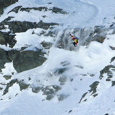 julie olsen snowboarding
