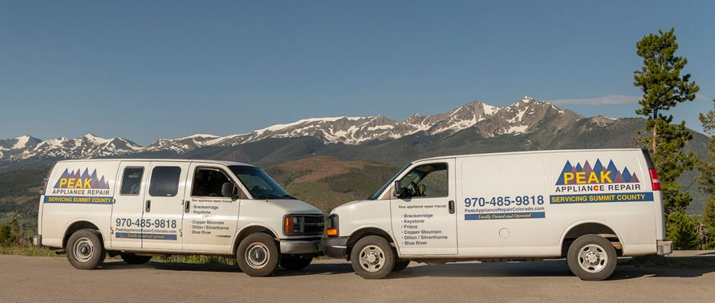 Peak Appliance Repair Vans